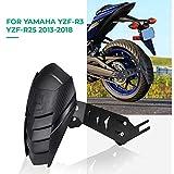 Yamaha YZF R3 R25 MT03 13-18 バイク マッドガード 泥除け リアフェンダー ブラケットタイプ