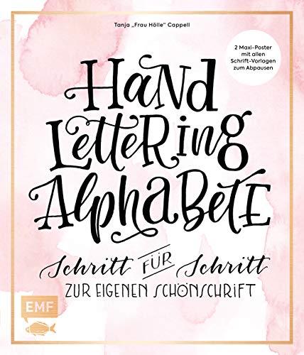 Handlettering Alphabete: Schritt für Schritt zur eigenen Schönschrift – 2 Maxi-Poster mit allen Schrift-Vorlagen zum Abpausen