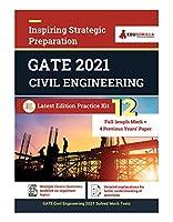 Gate 2021: Civil Engineering - 12 Full-length Mock Tests + 4 Previous Year Paper (2018 - 2019)