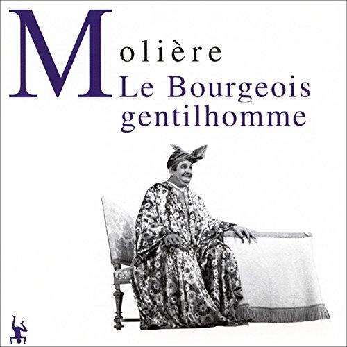 Couverture de Le bourgeois gentilhomme