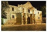 WFTD 1000pcs Puzzle Rompecabezas para niños Alamo San Antonio, TX niños y Adultos Painting Puzzle decoración