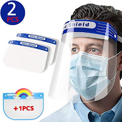 Paquete de 2 protectores faciales de seguridad