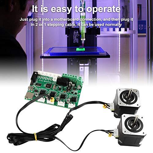 Easy-topbuy Cable De Impresora 3D Accesorios De Impresora 3D Compatible con CR-10 CR-10S / Ender-3 Línea De Motor Paso A Paso Cable De Motor De Doble Eje Z Polite Designer Fashion