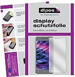 dipos I 2X Schutzfolie klar kompatibel mit Medion Life E5008 Folie Bildschirmschutzfolie