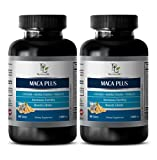 Rebuild Sexual Vitality - MACA Plus - Maca Root Pills for Men Sex - 2 Bottle 120 Tablets