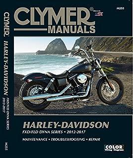 Harley-Davidson FXD/FLD Dyna Series 2012-2017: FXDB Street Bob (2012-2017), FXDB 103 Street Bob (2014-2017), FXDBA Street Bob (2013 Factory Custom), ... 2015-2016 Limited) (Clymer Powersport)