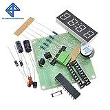 At89c2051 Diy Kit de bricolaje para la producción de reloj electrónico digital de 4 bits