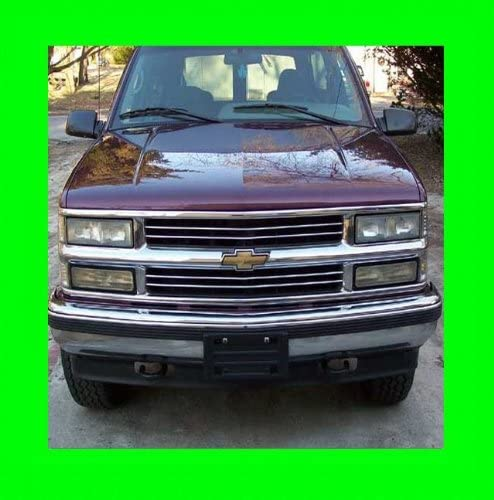 312 Motoring fits 1992-1999 Large discharge sale Chevrolet Gril Chrome Suburban gift Grill