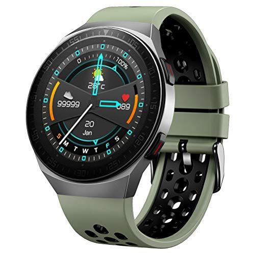 HJKPM Smartwatch, IP67 Wasserdicht Bluetooth Musik Intelligente Uhr Built-In 8G Speichern Und 260Mah Batteriekapazität Verwendung Magnetischer Aufladung Für Die EKG-Überwachung PPG,D
