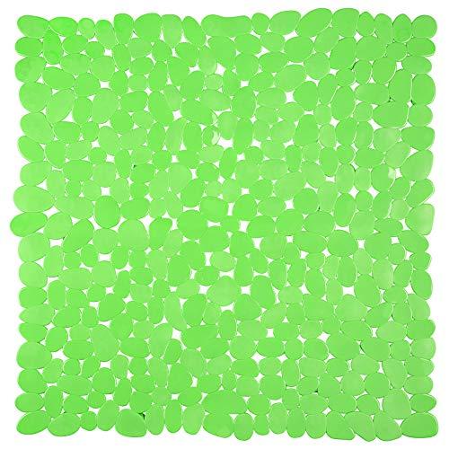 Circul Duschmatte 53 x 53 cm grün Steinoptik modern