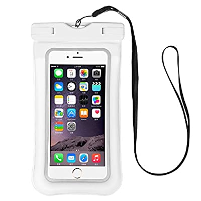 O RLY Floating Waterproof Case Dry Bag & Touch ID for iPhone 6, 6 plus, 6s, 6s plus, 5s, Samsung Galaxy S8 S9 Note, TPU Construction Pouch & IPX8 Certified
