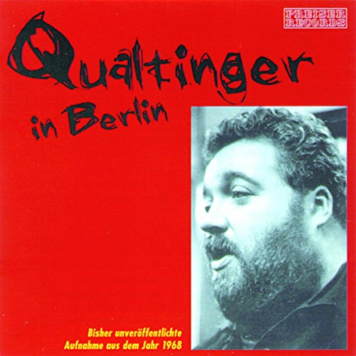 Qualtinger in Berlin audiobook cover art