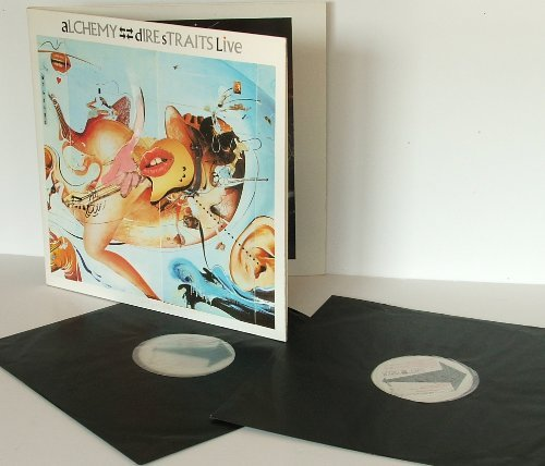 dIRE sTRAITS Live alchemy Double album, black inners.Great Copy First UK pressing. 1984.