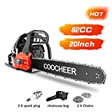Best Gas Chainsaws - COOCHEER 20 Inch Gas Powered Chainsaw 62CC 2 Review