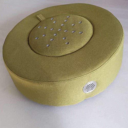 JayQm Moxibustion zitkussen, comfortabel verwarmingskussen Moxa Moxa Burner Box Kussen Zacht Lichaam Warmte Relaxatie Acupunctuur