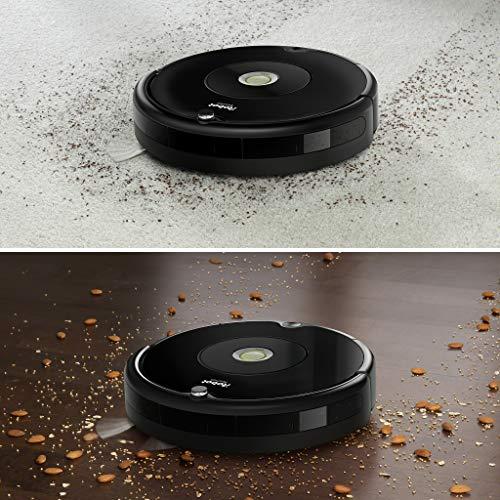 iRobot Roomba 606 ohne Staubbeutel 0.6L, Schwarz - 4