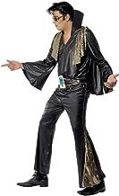 Smiffys Men's Elvis Black and Gold Costume - Chest 42