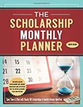 The Scholarship Monthly Planner 2019-2020