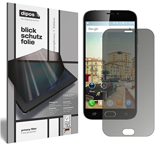 dipos I Blickschutzfolie matt kompatibel mit Doogee X9 Pro Sichtschutz-Folie Bildschirm-Schutzfolie Privacy-Filter