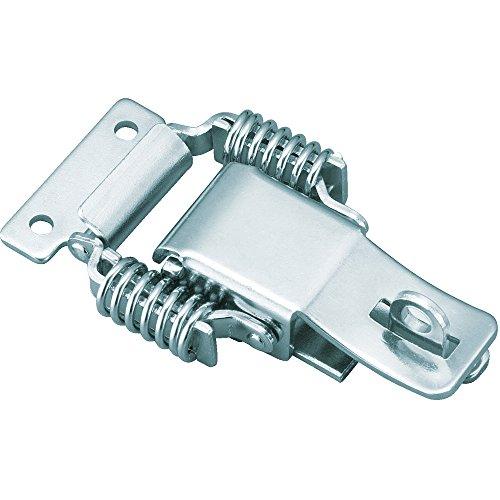TRUSCO(トラスコ) パッチン錠 鍵穴付バネタイプ 2個入 P-31H