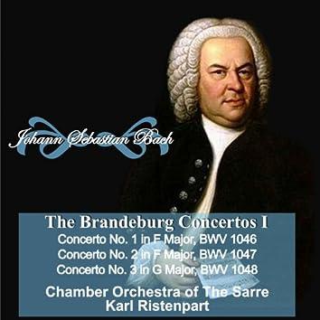 "Johann Sebastian Bach: ""The Brandeburgo Concertos I"" Concerto No. 1 in  F Major, BWV 1046 - Concerto No. 2 in F Major, BWV 1047 - Concerto No. 3 in G Major, BWV 1048"