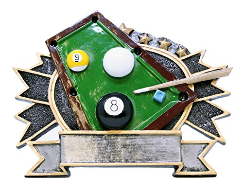 Decade Awards 17,1 cm LG Billiard/Pool Thema Teller
