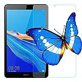 2枚 HUAWEI 8.0インチ MediaPad M5 Lite Touch タブレット用フィルムWi-Fiモデル/LTEモデル適用ガラスフィルム ファーウェイ M5 lite 8 強化フィルム 旭硝子製 耐指紋 視力保護 貼り付け簡単 30日間交換保証