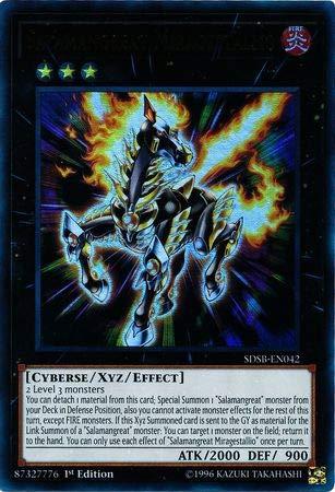 Yu-Gi-Oh! - Salamangreat Mirage Stallio - SDSB-EN042 - Ultra Rare - 1st Edition - Structure Deck: Soulburner