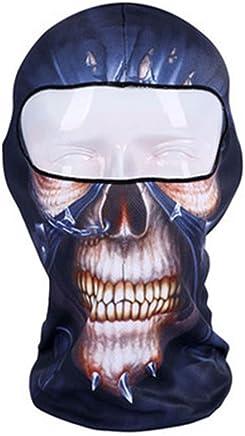 Jetec 2 Pièces Masque de Ski Balaclava Masque Facial Coupe-Vent Cache-Cou Ajustable Couvre Visage Complet Bonnet dhiver Chaud Vêtements