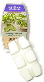 Better Homes & Gardens Rosemary & Spearmint Aromatherapy Essential Oil Infused Wax Melts, 2.5 OZ (Rosemary & Spearmint, 2....