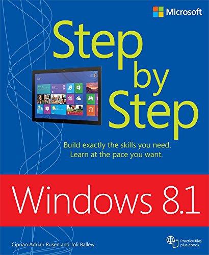 Windows 8.1 Step by Step: Windows 8.1 Step by Step _p1 (English Edition)