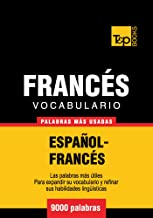 Vocabulario español-francés - 9000 palabras más usadas (T