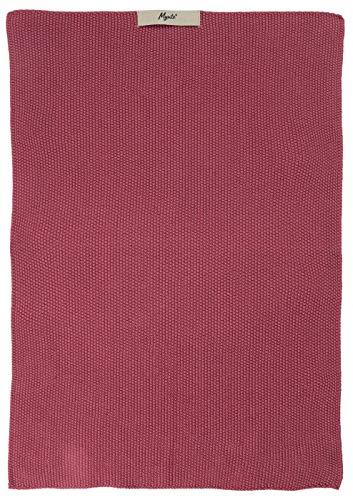 IB Laursen - Geschirrtuch, Küchentuch, Trockentuch - 40 x 60 cm - Farbe: BlackBerry Parfait - gestrickt