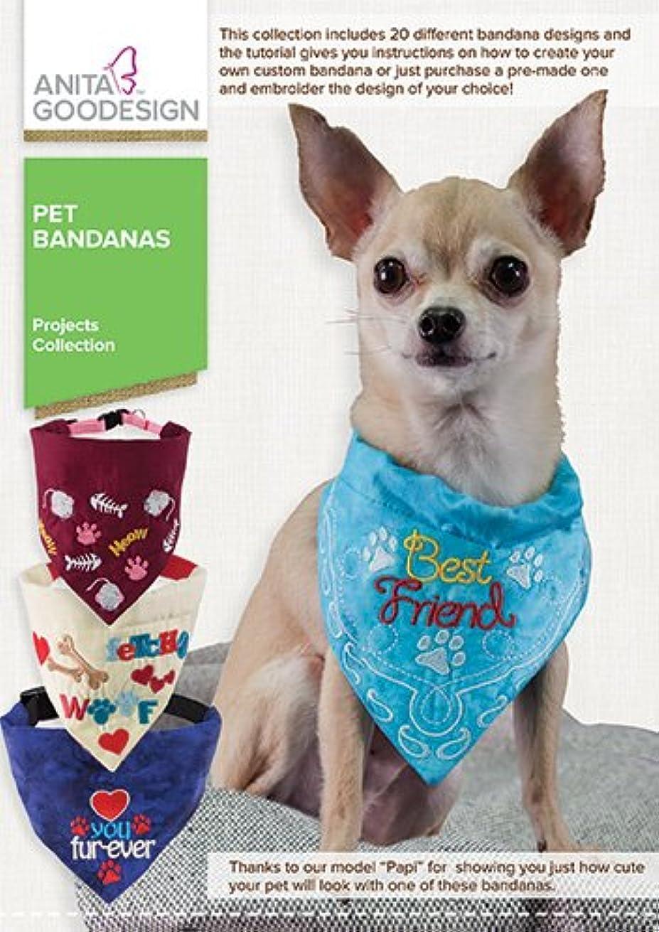 Anita Goodesign Pet Bandanas Proj 75