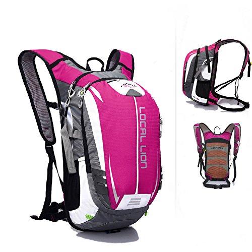 SINCERE@ Outdoor équitation sac à dos d'hydratation sac à dos petits respirants légers sacs sac de sport d'alpinisme (Rose)