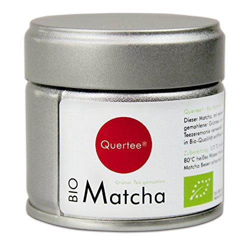 Japan Bio Matcha - 30 g Dose - Premiumqualität für den Trinkgenuß - Grüntee Pulver