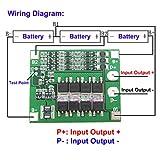 3S 11.1V 12.6V 25A W/Balance 18650 Li Ion Batería de Litio Tarjeta de protección para PCB