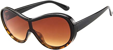 6f7288028ac TANGSen Women Men Vintage Retro Glasses Unisex Big Frame Sunglasses Outdoor  Casual Eyewear Sun Glasses