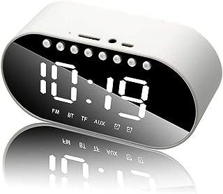 Ampio Display Per Camera Da Letto Haihuic Altoparlanti Bluetooth Lettore Musicale Con Audio Stereo Radiosveglia Digitale Con Radio Fm Elettronica Radiosveglie