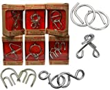 Cast Metal 6 Puzzles Set (Medium) - Group Special by Westminster