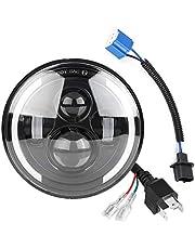 150W 7inch LED Driving Round Headlight Motorcycle Projector Headlight Waterproof Front Light Compatibel met Wrangler Motorcycle