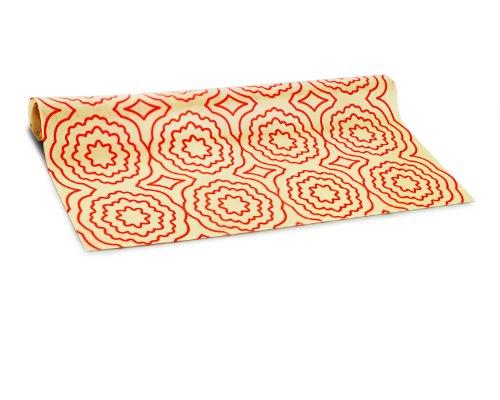 SiliconeZone Backmatte aus Silikon, 41,9 x 29,5 cm, Orange