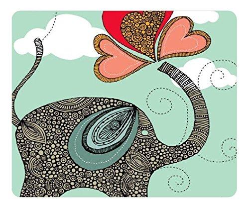 Elephant personalisierte Custom Gaming Maus Pad Gummi Durable Computer Desk Stationery Zubehör Maus Pads für Geschenk