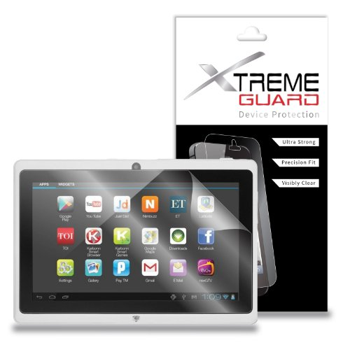 XtremeGuard Screen Protector for Kocaso iRola DX752 7' Tablet (Ultra Clear)