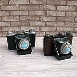 YYQZ Retro Camera Tirelire Creative Tirelire Figurines Style Classique Saving Box décoratifs for la Maison Création (Color : Send Random)