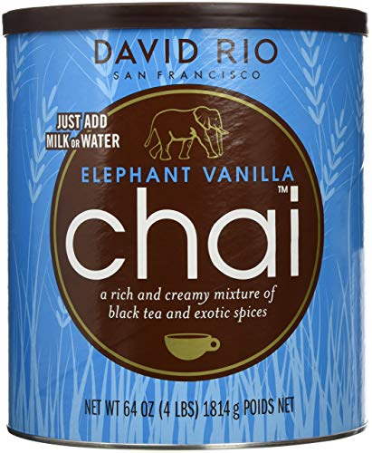 David Rio Chai Elephant Vanilla aus San Francisco, Dose (1x1814g)
