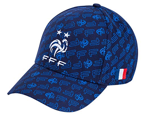 Equipe de FRANCE de football Casquette FFF - Collection Officielle Taille réglable ado et Adulte
