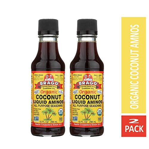 Bragg Coconut Aminos, All Purpose Seasoning, 10 Oz Pack of...