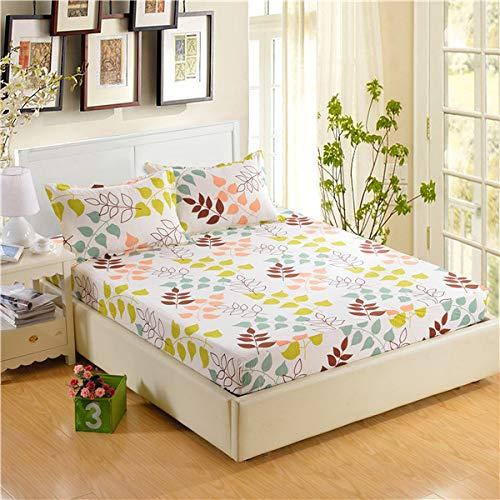 Hllhpc bedlaken van polyester, bedrukt, hoeken met de hand gewassen