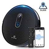 Amarey A980 Robot Vacuum with Vision Mapping Camera - Self-Charging Robotic Vacuum Cleaner Wi-Fi Connected APP, 1600Pa Strong Suction, 110 min Runtime, for Pet Hair Carpets, 2 Boundary Strip
